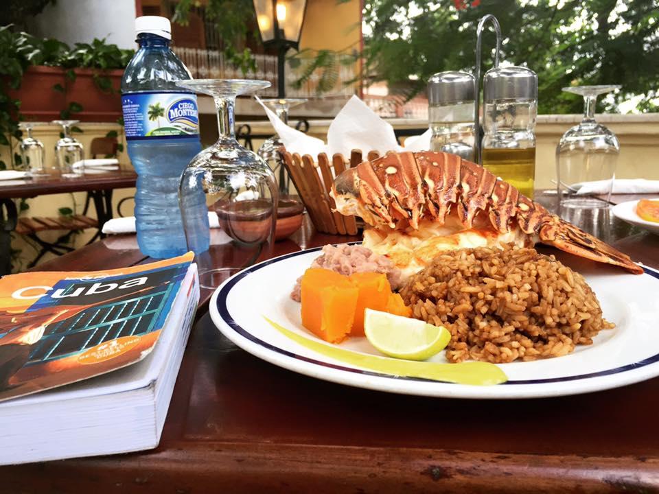 La Ceiba - Trinidad - Cuba - Lobster - Sea Roach!
