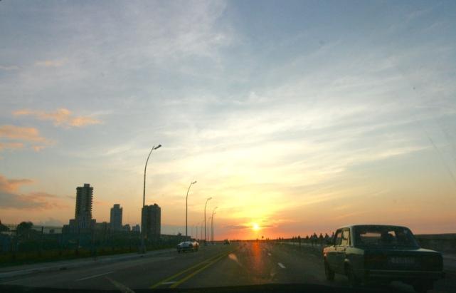 El Malecon de la Habana Sunset